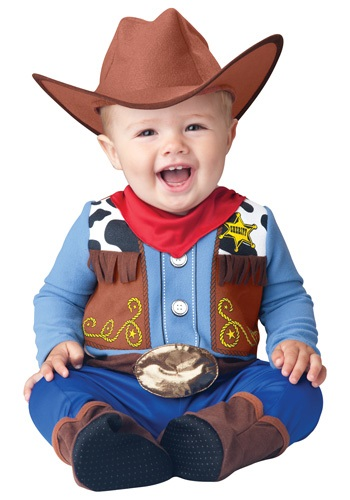 Click Here to buy Wee Wrangler Cowboy Costume from HalloweenCostumes, CDN Funds & Shipping