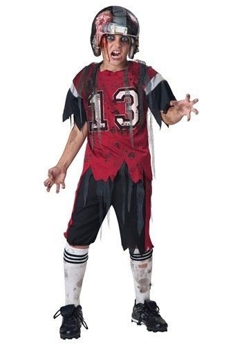 Click Here to buy Kids Dead Zone Zombie Costume from HalloweenCostumes, CDN Funds & Shipping