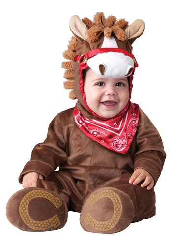 Click Here to buy Baby Playful Pony Costume from HalloweenCostumes, CDN Funds & Shipping