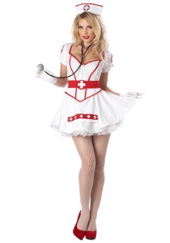Click Here to buy Womens Nurse Heartbreaker Costume from HalloweenCostumes, CDN Funds & Shipping