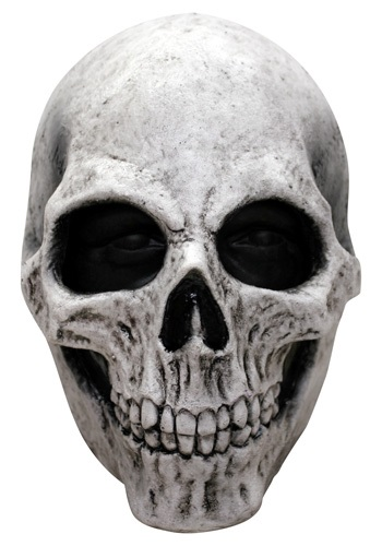 Click Here to buy White Skull Mask from HalloweenCostumes, CDN Funds & Shipping