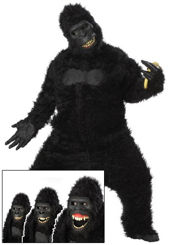 Click Here to buy Adult Goin Ape Gorilla Costume from HalloweenCostumes, CDN Funds & Shipping
