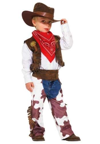 Click Here to buy Toddler Cowboy Costume | Toddler Western Halloween Costume from HalloweenCostumes, CDN Funds & Shipping
