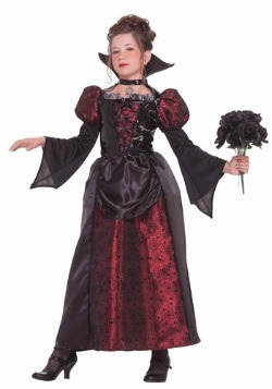 Girls Vampire Miss Costume