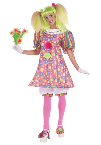 Click Here to buy Tickles the Clown Costume from HalloweenCostumes, CDN Funds & Shipping