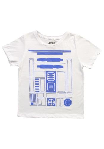 Boys I am R2D2 Costume T-Shirt Front