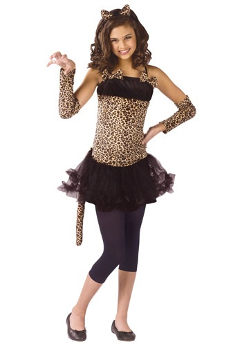 Child Wild Cat Costume