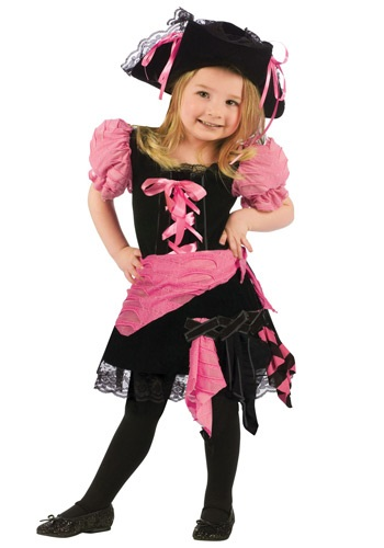 Click Here to buy Toddler Pink Punk Pirate Costume from HalloweenCostumes, CDN Funds & Shipping