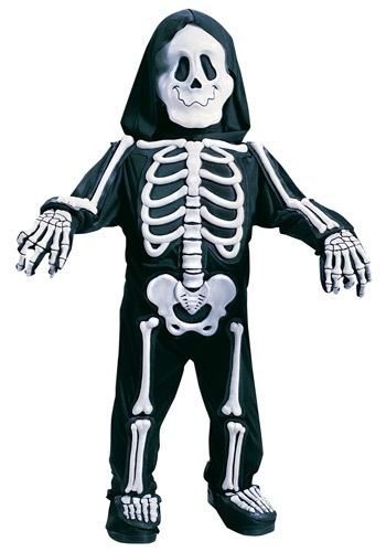 Click Here to buy Kids White Skeleton Costume from HalloweenCostumes, CDN Funds & Shipping
