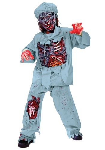 Click Here to buy Kids Zombie Doctor Costume from HalloweenCostumes, CDN Funds & Shipping