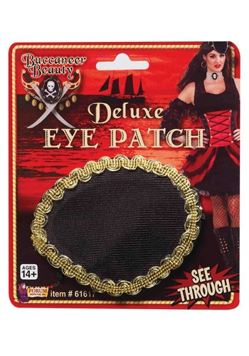 Click Here to buy Deluxe Pirate Eye Patch from HalloweenCostumes, CDN Funds & Shipping