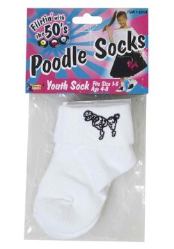 Child Poodle Socks
