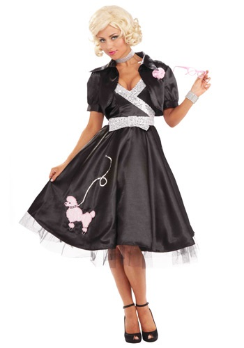Click Here to buy 50s Poodle Diva Costume from HalloweenCostumes, CDN Funds & Shipping