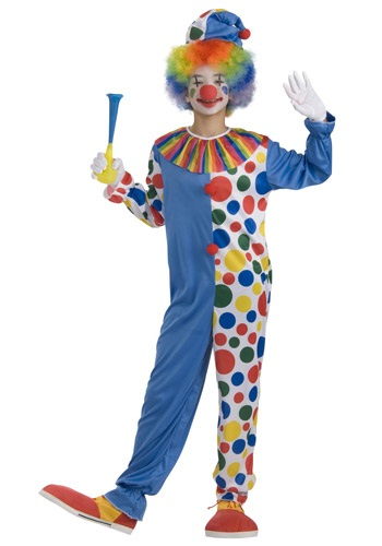 Teen Big Top Clown Costume