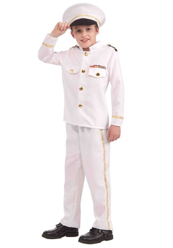 Click Here to buy Kids Navy Admiral Costume from HalloweenCostumes, CDN Funds & Shipping