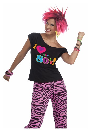 Click Here to buy 80s Shirt Remix from HalloweenCostumes, CDN Funds & Shipping