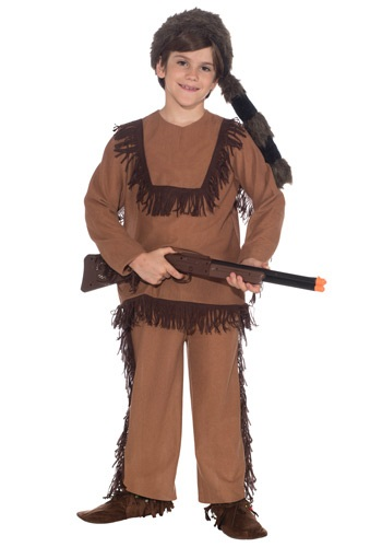 Click Here to buy Kids Davy Crockett Costume from HalloweenCostumes, CDN Funds & Shipping