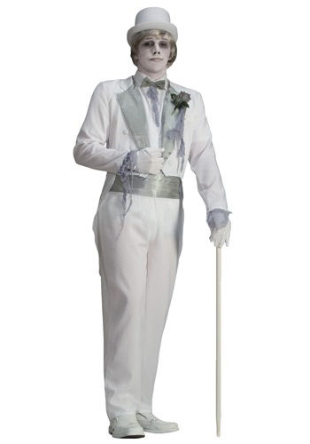 Click Here to buy Victorian Groom Ghostly Costume from HalloweenCostumes, CDN Funds & Shipping