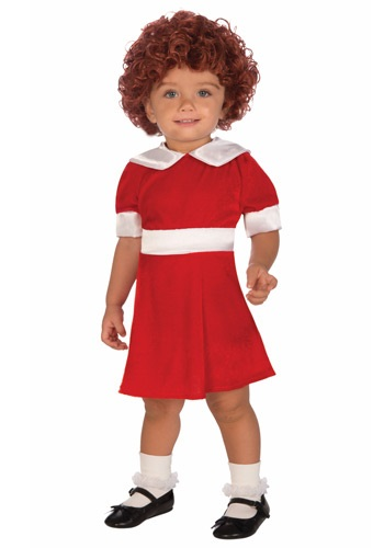 Click Here to buy Toddler Annie Costume from HalloweenCostumes, CDN Funds & Shipping