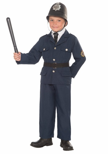 Click Here to buy Kids Keystone Cop Costume from HalloweenCostumes, CDN Funds & Shipping
