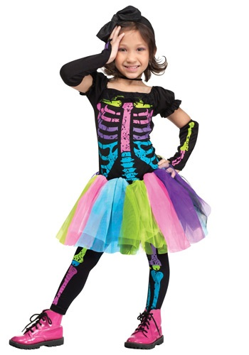 Click Here to buy Toddler Funky Punky Bones Costume from HalloweenCostumes, CDN Funds & Shipping