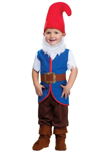 Click Here to buy Toddler Gnome Boy Costume from HalloweenCostumes, CDN Funds & Shipping