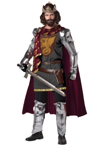 Click Here to buy King Arthur Costume - Knight Costume Ideas from HalloweenCostumes, CDN Funds & Shipping