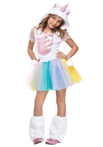Girls Unicorn Costume
