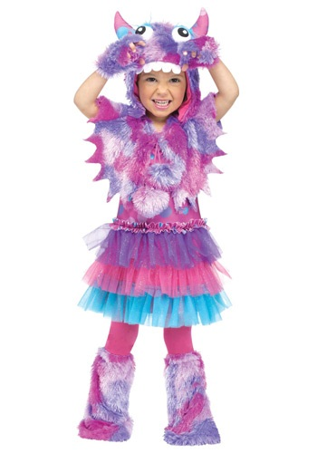 Click Here to buy Toddler Polka Dot Monster Costume from HalloweenCostumes, CDN Funds & Shipping