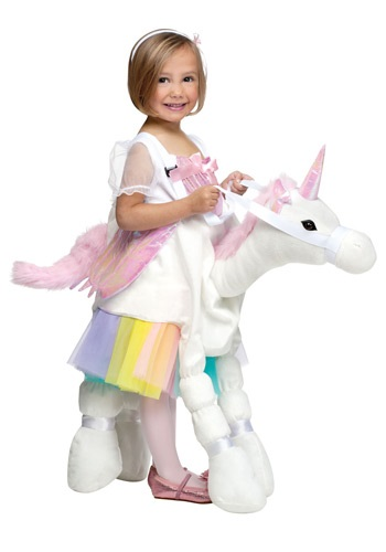 Click Here to buy Ride A Unicorn Costume from HalloweenCostumes, CDN Funds & Shipping