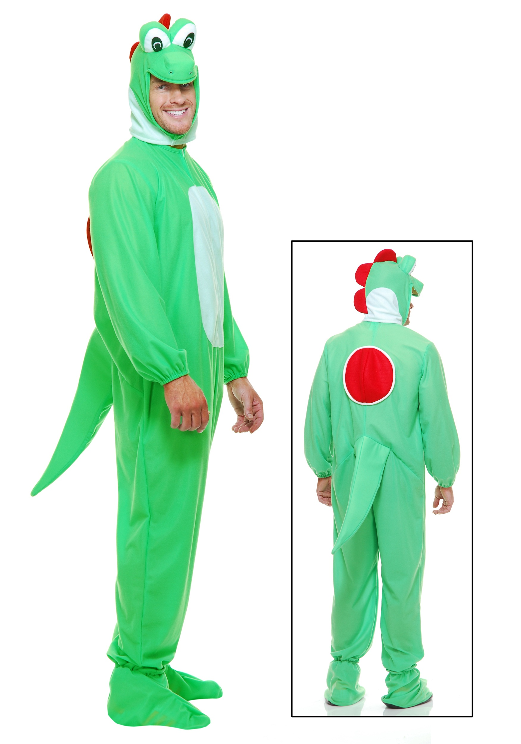 INOpets.com Anything for Pets Parents & Their Pets Adult Green Dragon Costume