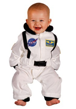 Infant Astronaut Costume front