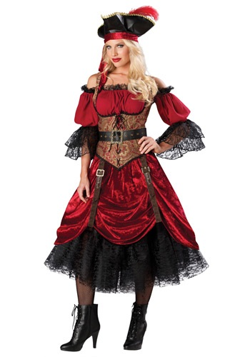 Swashbucklin Scarlet Costume