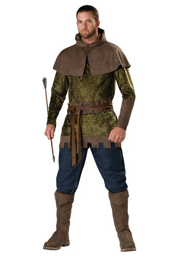 Click Here to buy Mens Robin Hood Costume from HalloweenCostumes, CDN Funds & Shipping
