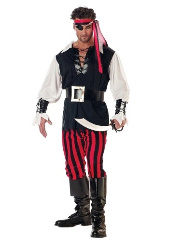Click Here to buy Adult Cutthroat Pirate Costume from HalloweenCostumes, CDN Funds & Shipping