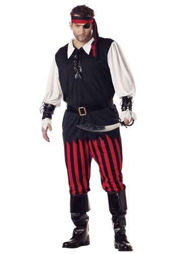 Plus Size Cutthroat Pirate Costume