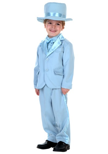 Blue Tuxedo Costume for Toddlers