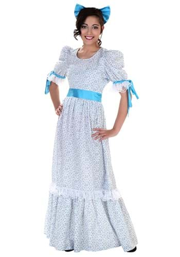 Click Here to buy Wendy Costume | Victorian Era Dress from HalloweenCostumes, CDN Funds & Shipping