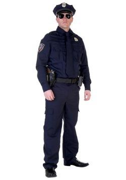 Plus Size Authentic Cop Costume
