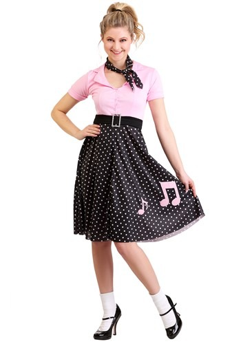 Click Here to buy Sock Hop Cutie Costume from HalloweenCostumes, CDN Funds & Shipping