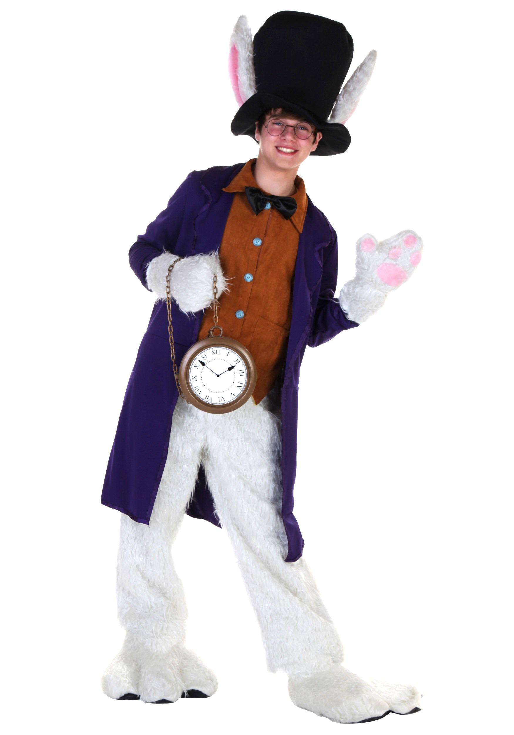 Alice in bunny costume and stockings masturbating 5