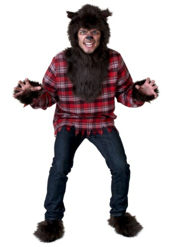 Click Here to buy Adult Werewolf Costume from HalloweenCostumes, CDN Funds & Shipping