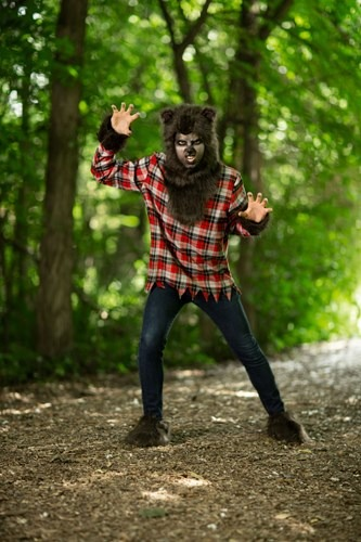 Click Here to buy Plus Size Werewolf Costume from HalloweenCostumes, CDN Funds & Shipping
