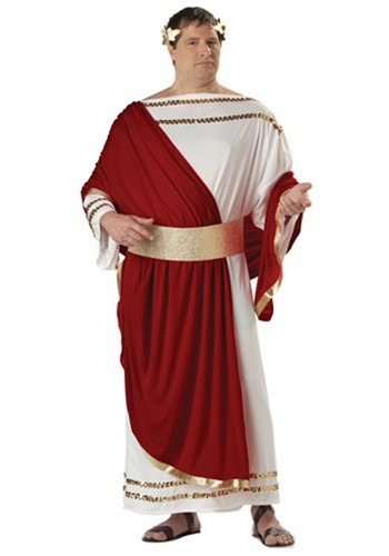 Click Here to buy Plus Size Caesar Costume from HalloweenCostumes, CDN Funds & Shipping