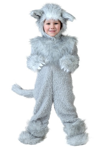 Click Here to buy Toddler Wolf Costume from HalloweenCostumes, CDN Funds & Shipping