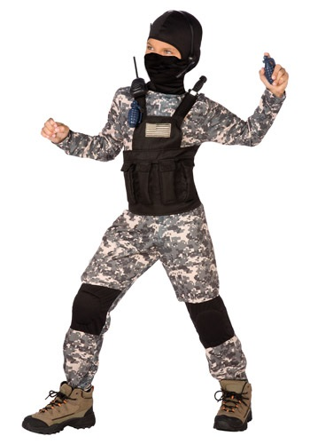 Click Here to buy Kids Navy Seal Costume from HalloweenCostumes, CDN Funds & Shipping