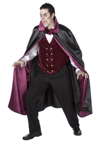 Click Here to buy Mens Deluxe Vampire Costume from HalloweenCostumes, CDN Funds & Shipping