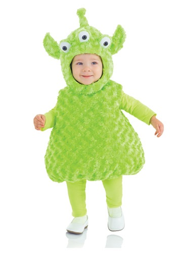 Click Here to buy Toddler Alien Costume from HalloweenCostumes, CDN Funds & Shipping