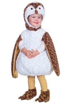 Toddler White Barn Owl Costume