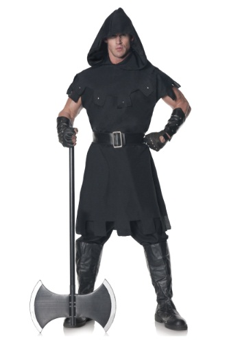 Men's Plus Size Executioner Costume